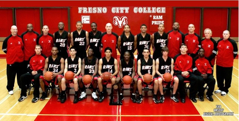 Fresno City College Men's Basketball team . California State Champions 2010